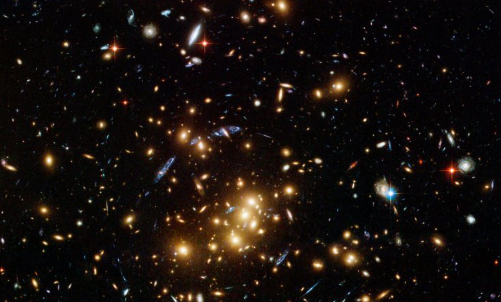 Nasa: Image of an Galaxy Cluster